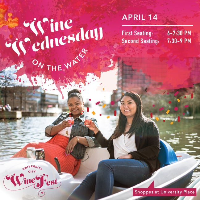 Wine Wednesday on the Water