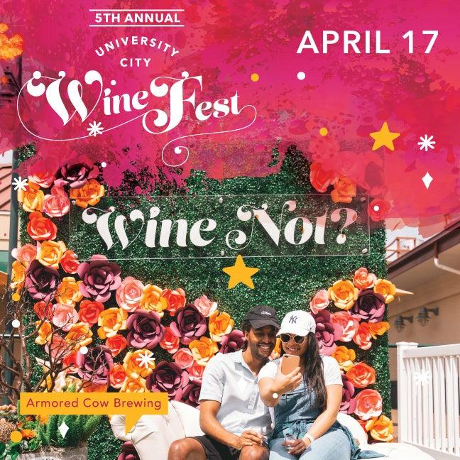 5th Annual University City Wine Festival - Saturday