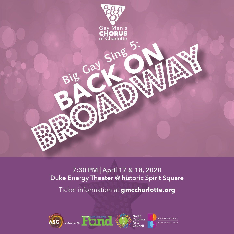 Big Gay Sing 5: Back to Broadway