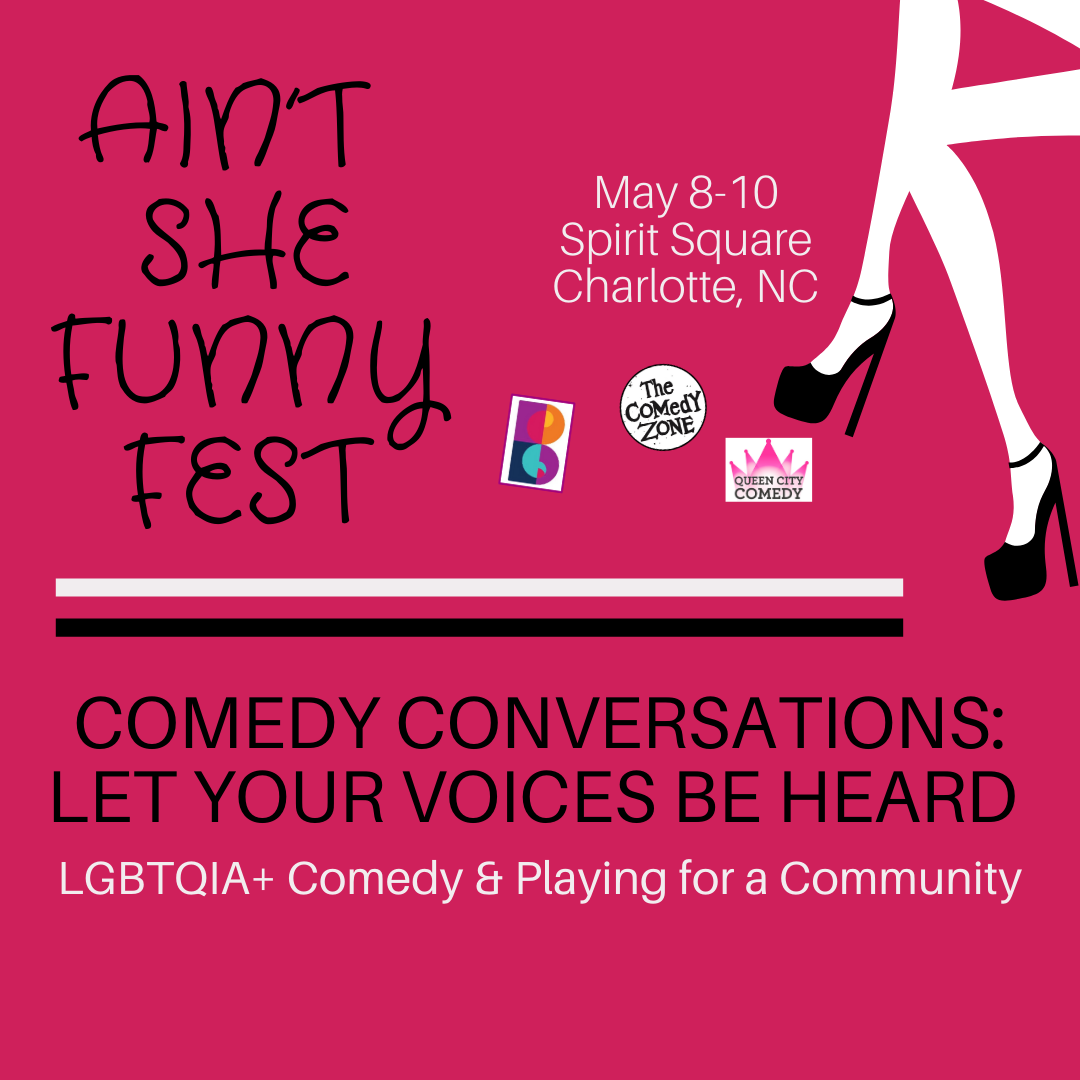 Comedy Convos: LGBTQIA+ Comedy and Playing for a Community