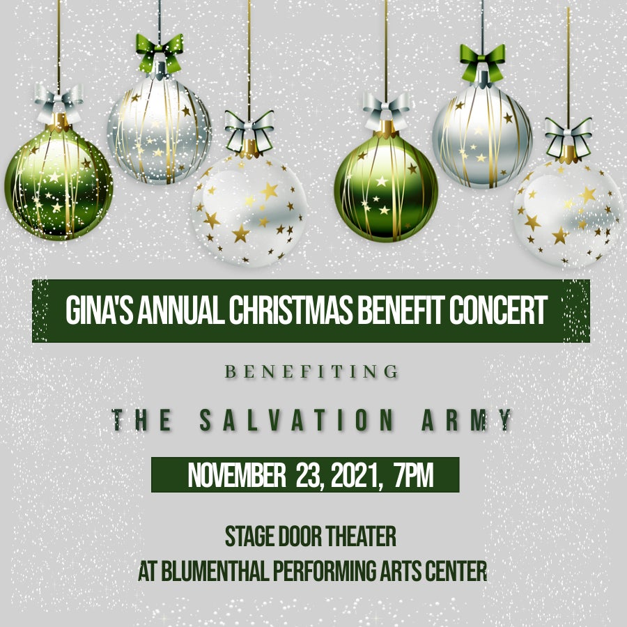 Gina's Annual Christmas Benefit Concert