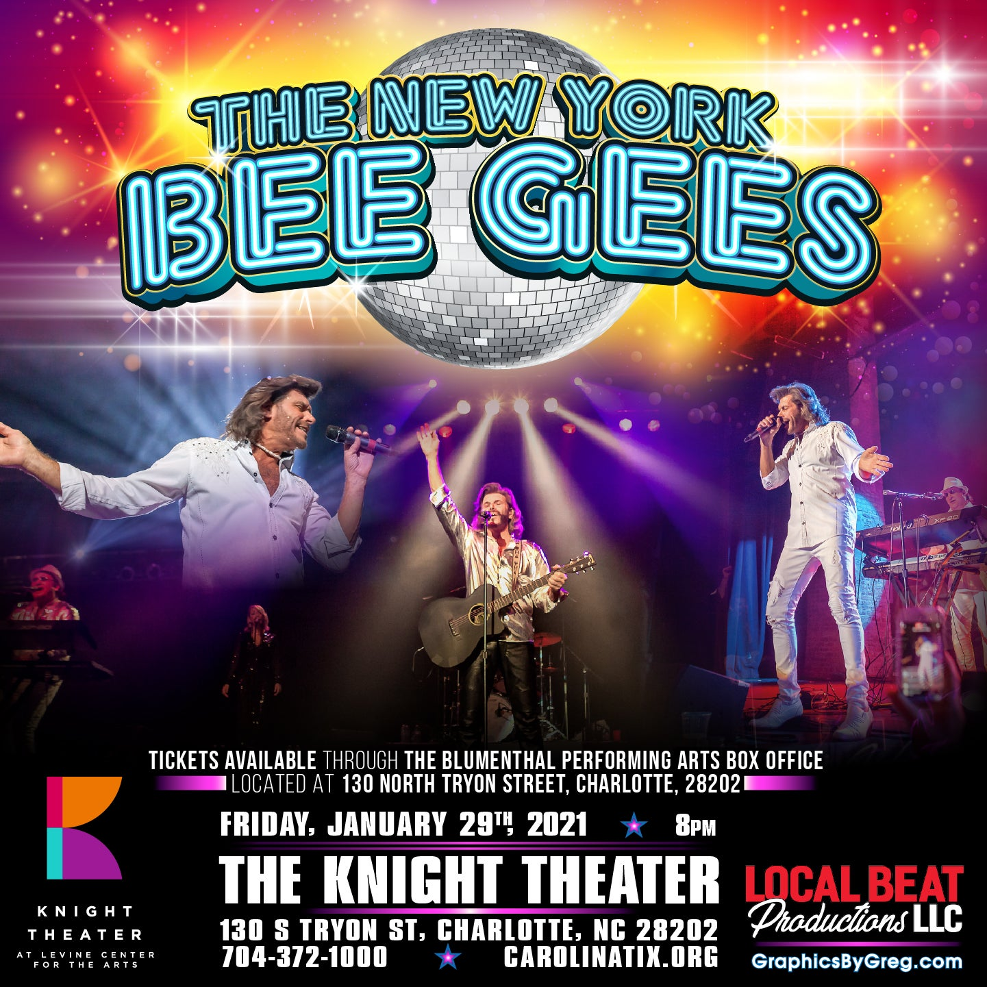 The New York BeeGee's Tribute Show: 'Friday Night Fever'