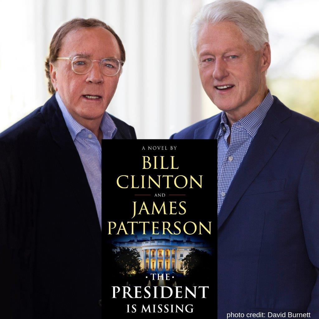 An Evening with President Bill Clinton and James Patterson