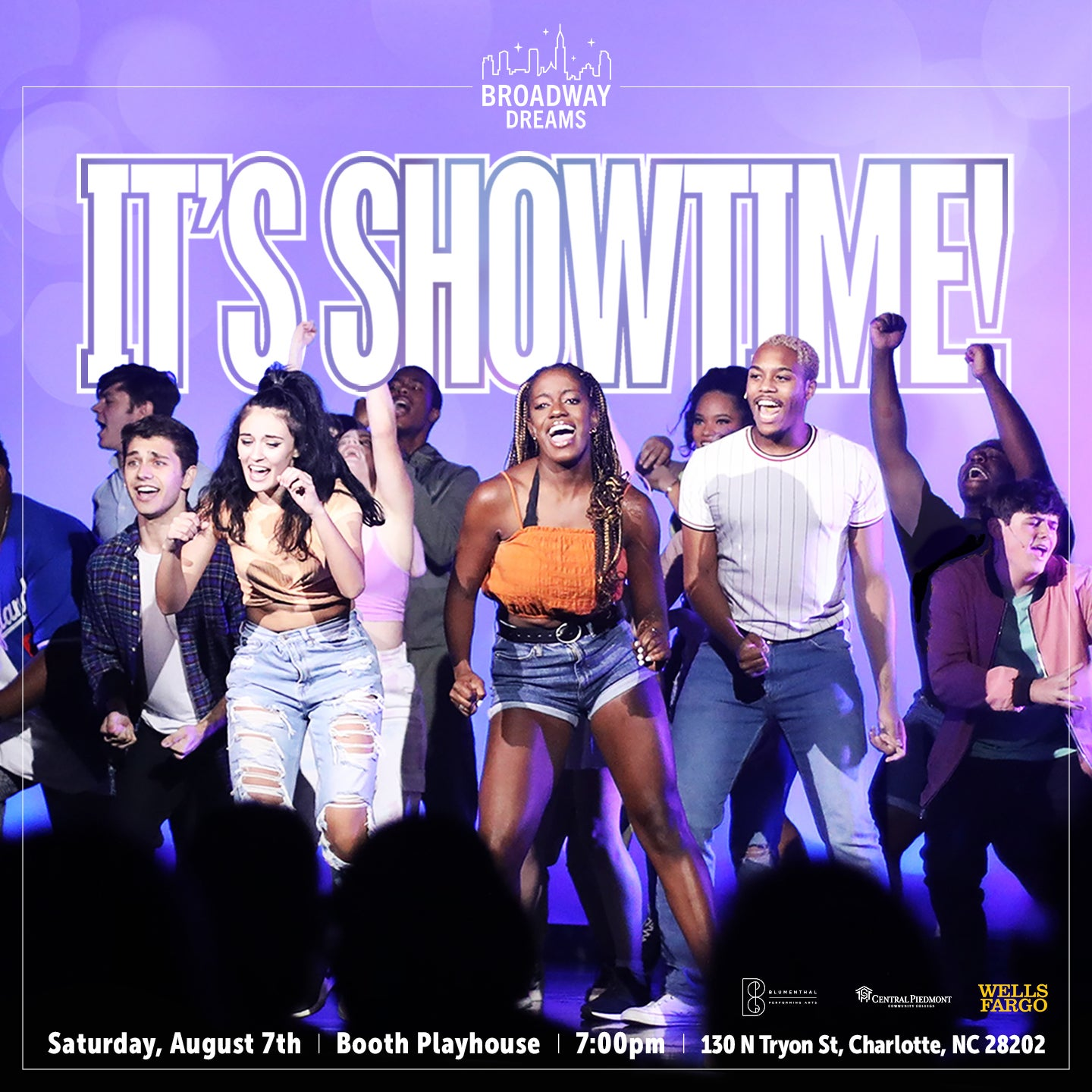 """More Info for Broadway Dreams 2021 Charlotte Showcase: """"The Reboot"""""""