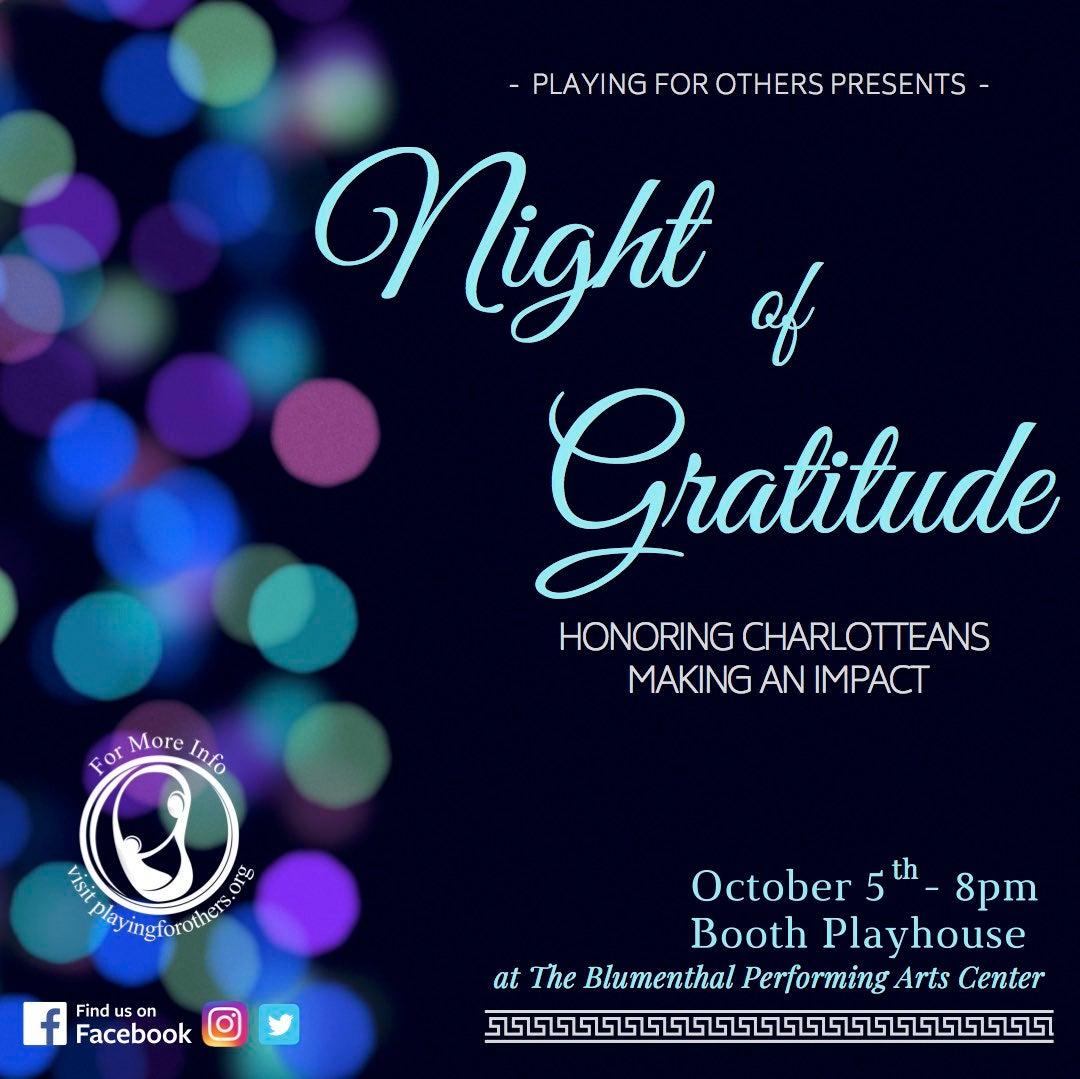Night of Gratitude