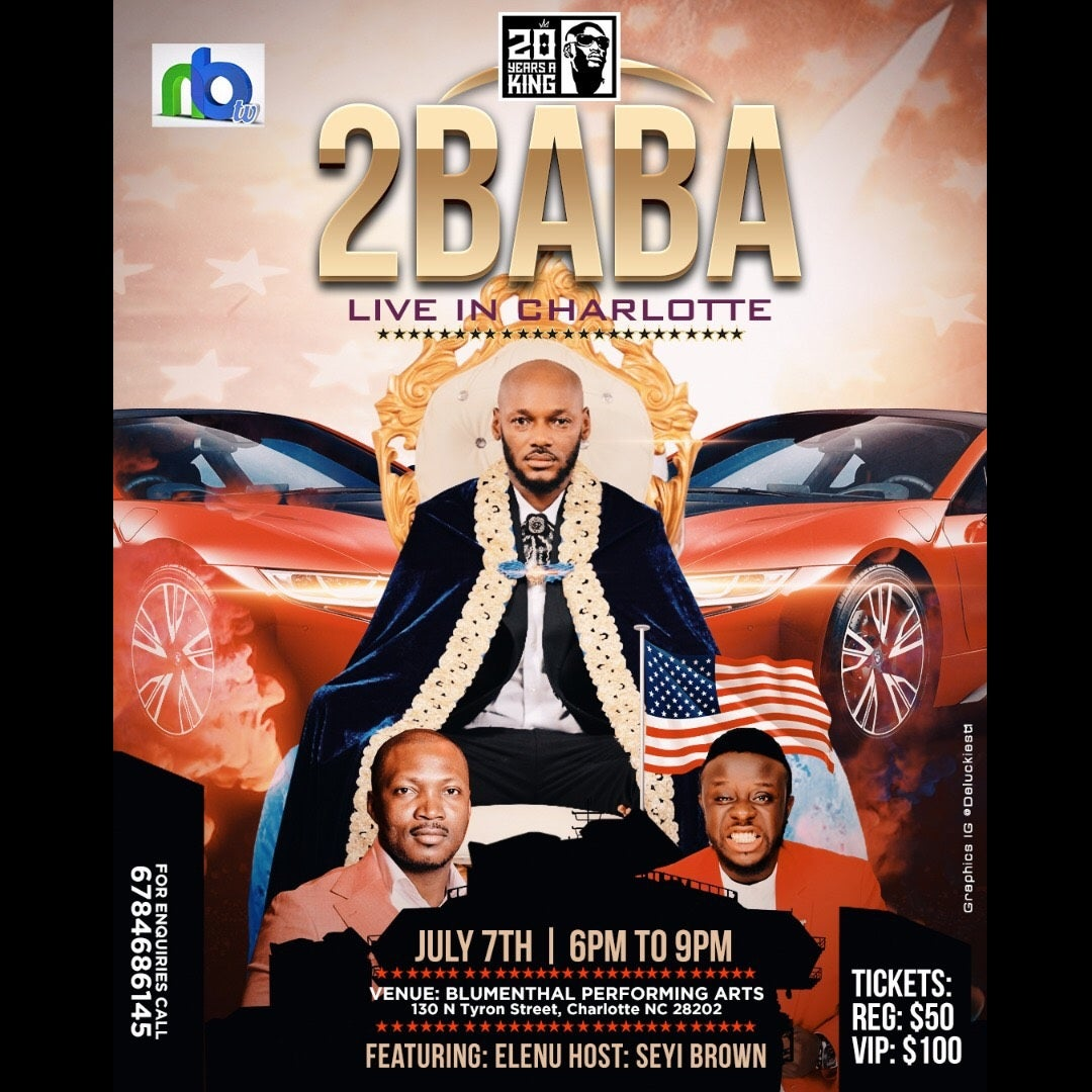 2BABA Live in Charlotte