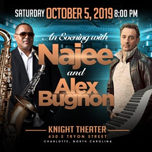 An Evening with Najee and Alex Bugnon