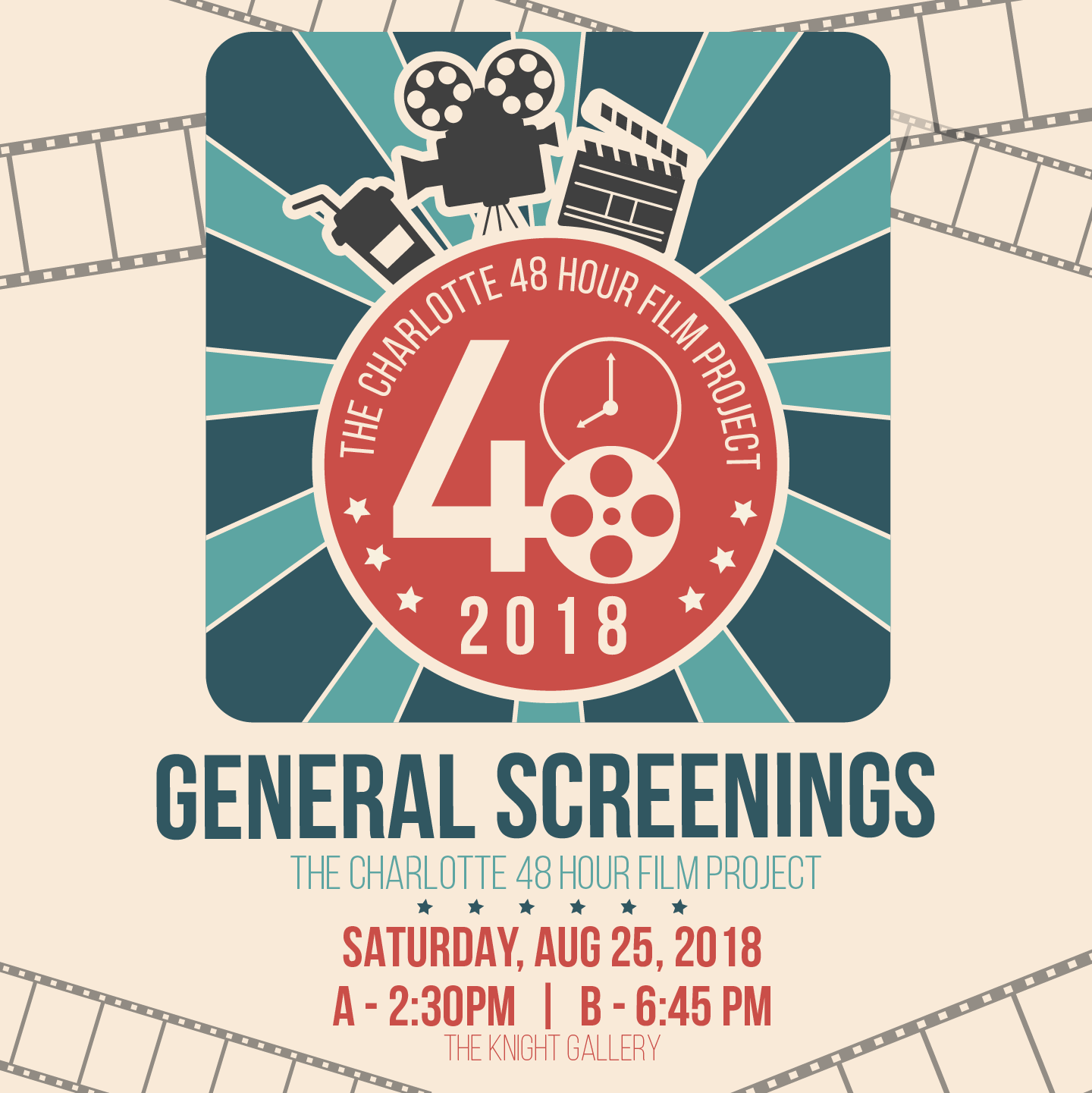 The Charlotte 48 Hour Film Project: General Screenings