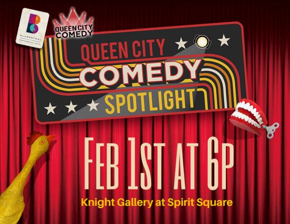 More Info for Queen City Comedy Spotlight - Clean Comedy