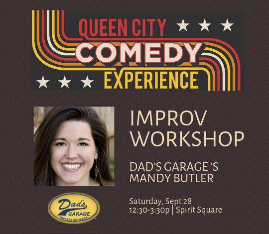 More Info for Queen City Comedy Experience Workshop: Improv Booster Shot for Advanced Improvisers with Mandy Butler from Dad's Garage