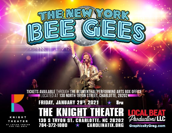 More Info for The New York BeeGee's Tribute Show: 'Friday Night Fever'