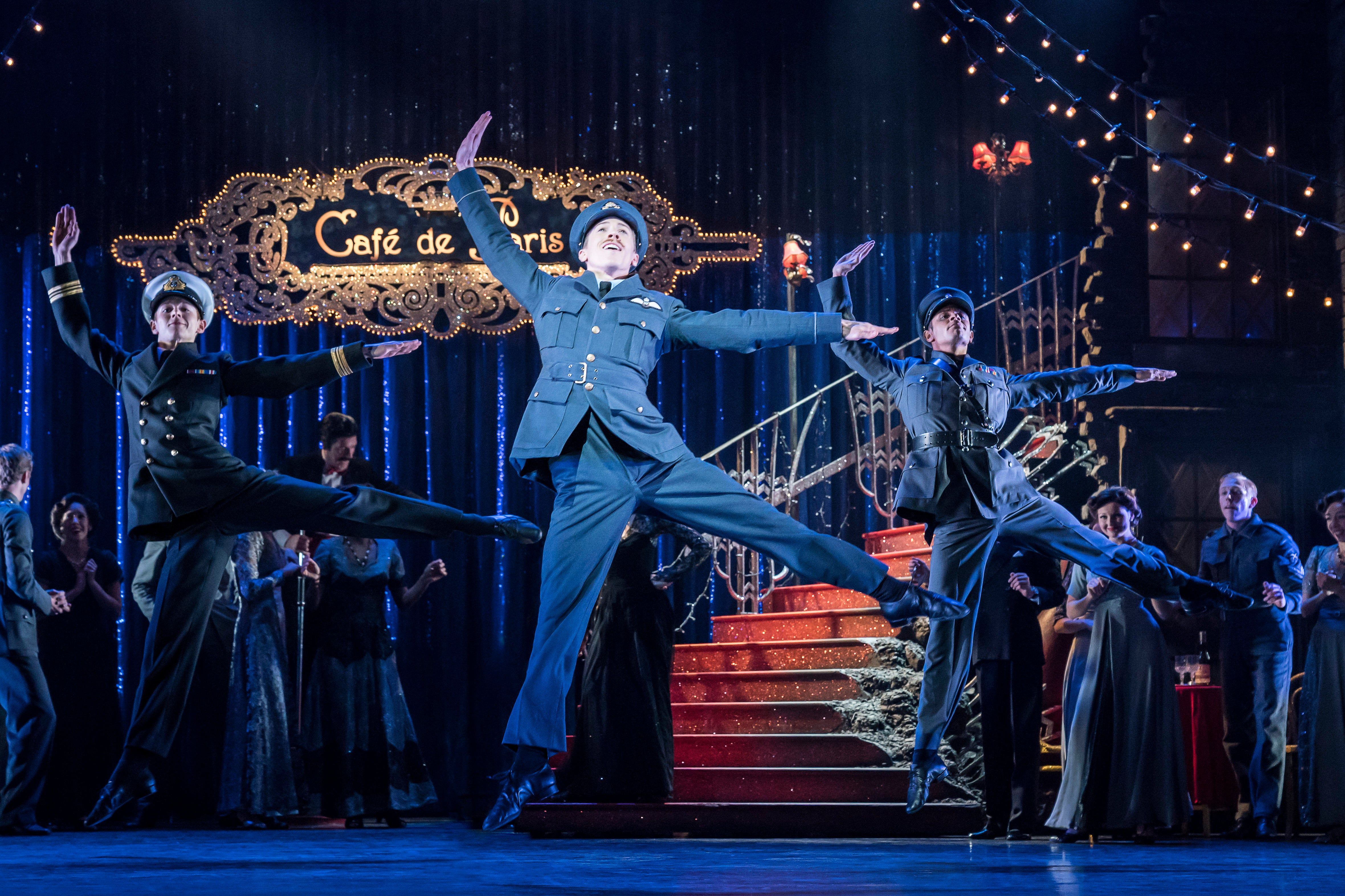 8. MATTHEW BOURNE'S CINDERELLA. Andrew Monaghan 'Harry' and The Company. Photo by Johan Persson.jpg