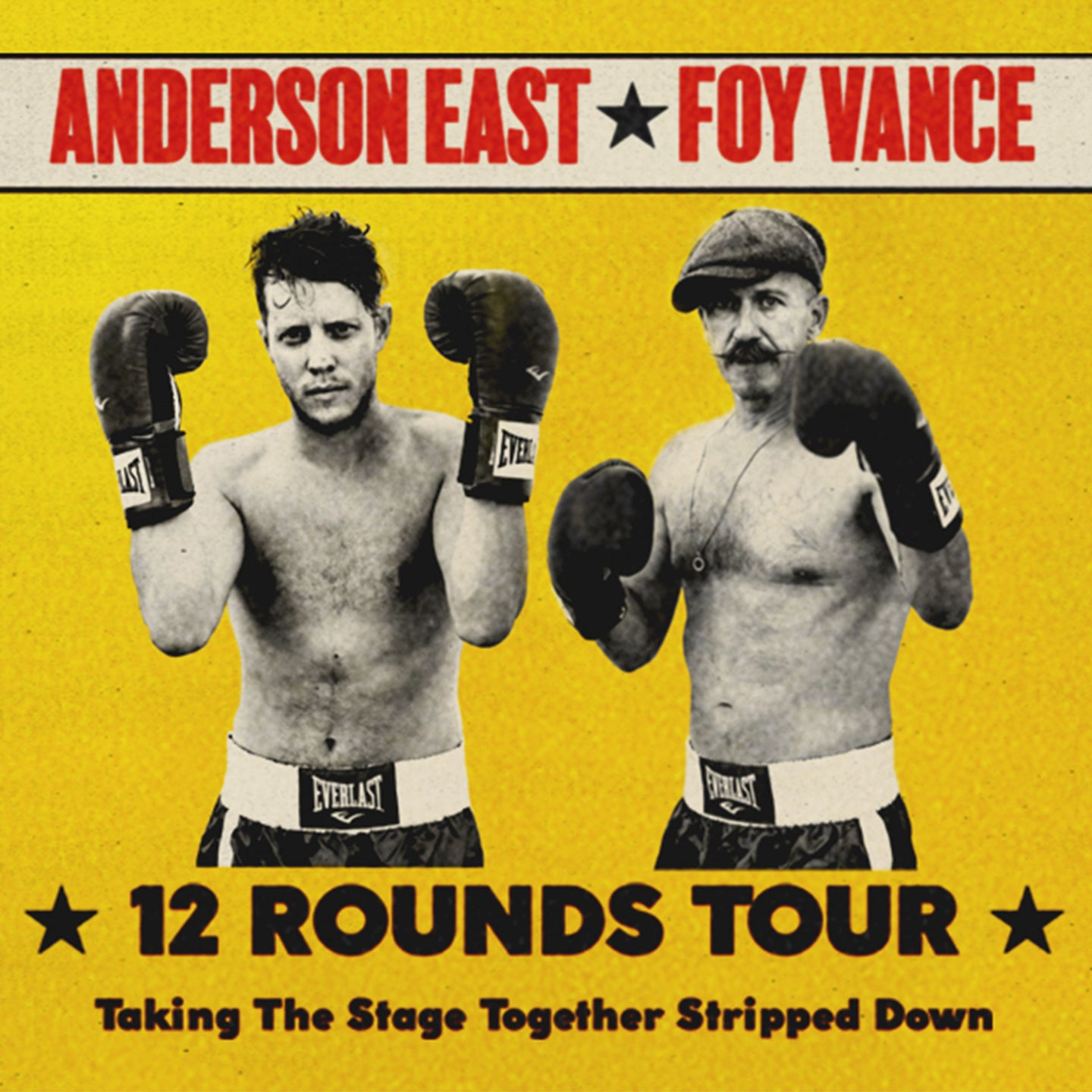 Anderson East and Foy Vance: 12 Rounds Tour