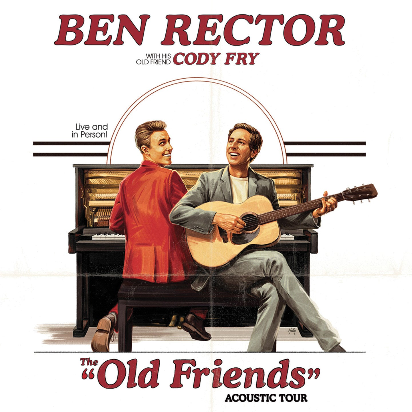 Ben Rector: The Old Friends Acoustic Tour with special guest Cody Fry