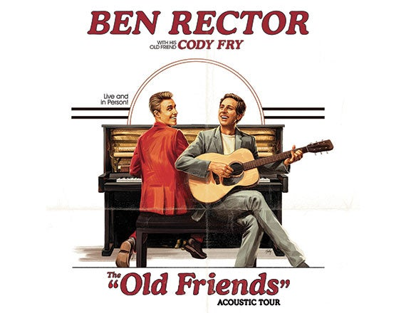 More Info for Ben Rector: The Old Friends Acoustic Tour