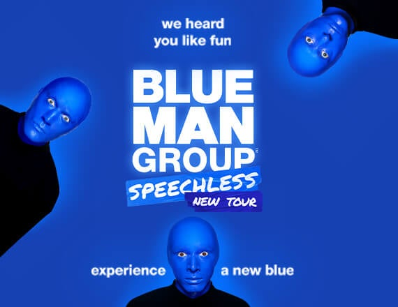 More Info for Broadway Extras Exclusive: Blue Man Group