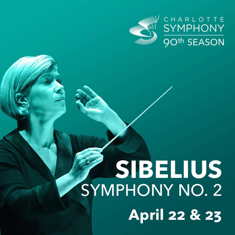Charlotte Symphony Orchestra presents Sibelius Symphony No. 2