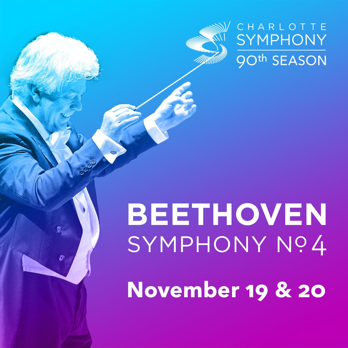 Charlotte Symphony Orchestra Presents Beethoven 4