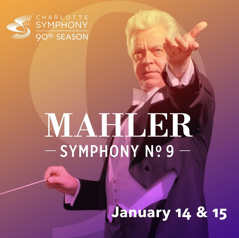 Charlotte Symphony Orchestra presents Mahler 9