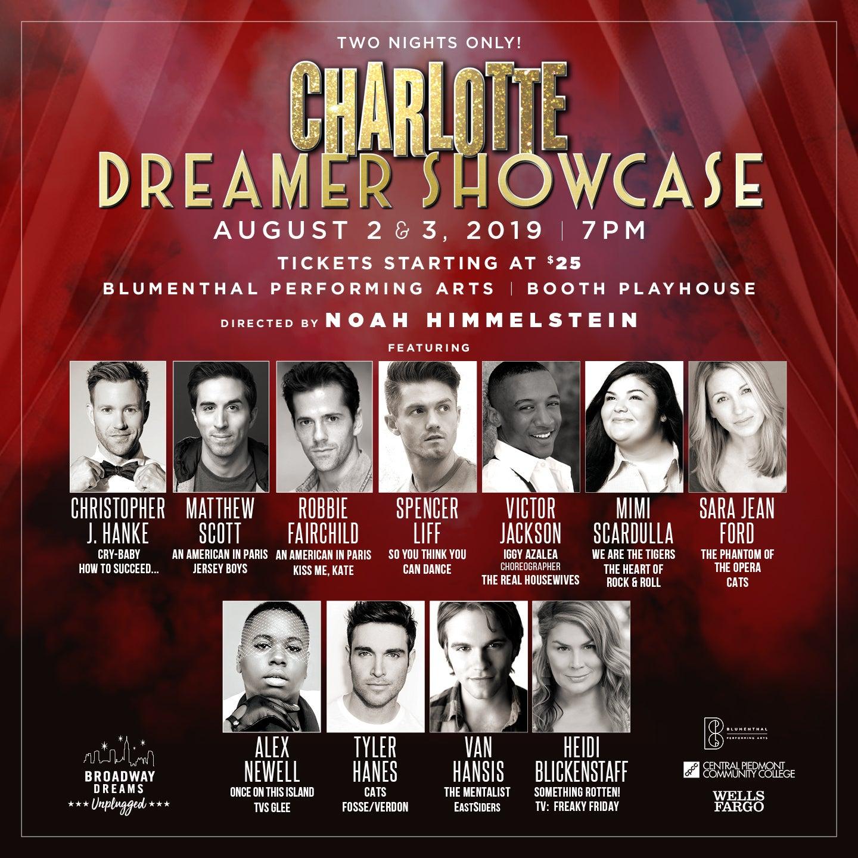 Broadway Dreams - Charlotte Dreamer Showcase
