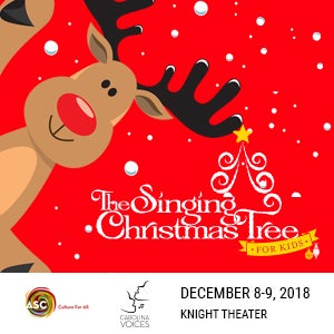 The Singing Christmas Tree for KIDS