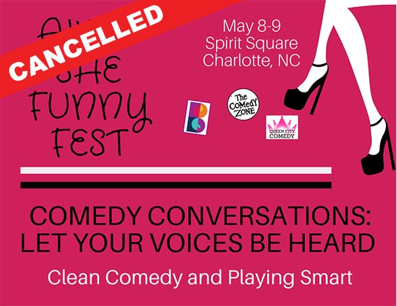 More Info for Comedy Convos: Clean Comedy and Playing Smart