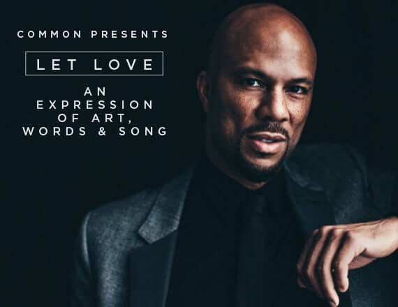 More Info for Common: Let Love Tour