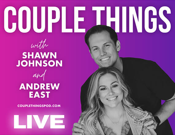More Info for Couple Things Podcast with Shawn Johnson and Andrew East