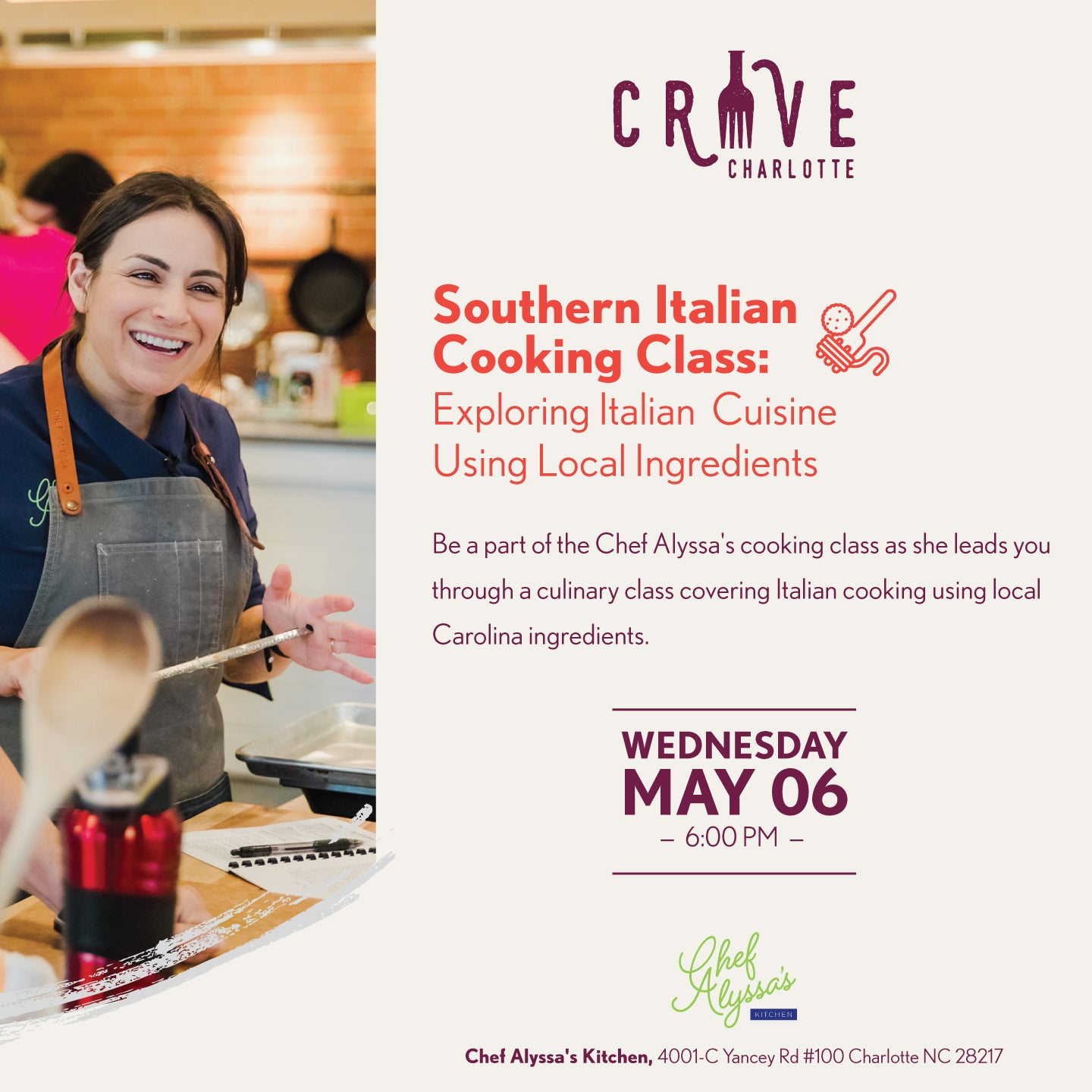 Southern Italian Cooking Class: Exploring Italian Cuisine Using Local Ingredients