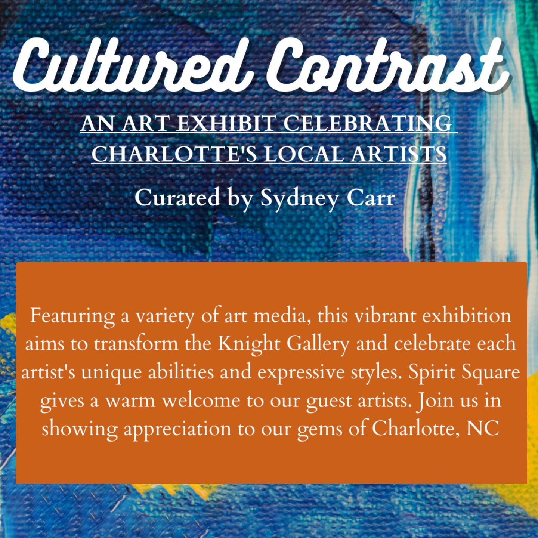 Cultured Contrast Art Exhibition Reception