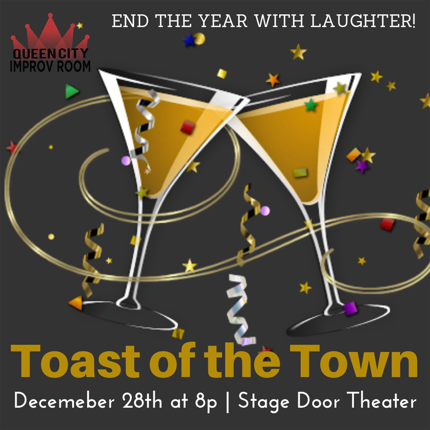 Queen City Improv Room: New Year's Eve