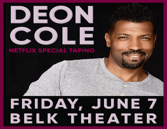 More Info for Deon Cole: Netflix Special Taping