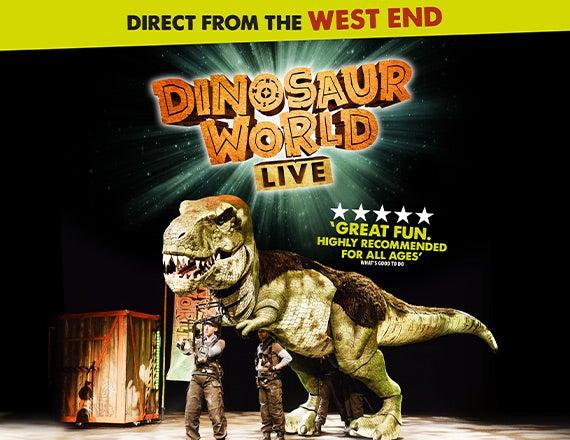 More Info for Dinosaur World Live