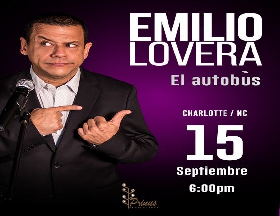 More Info for El Autobus Con Emilio Lovera
