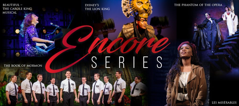 More Info for Blumenthal Announces ENCORE SERIES Featuring the Return of Five Tony Award Best Musical Winners