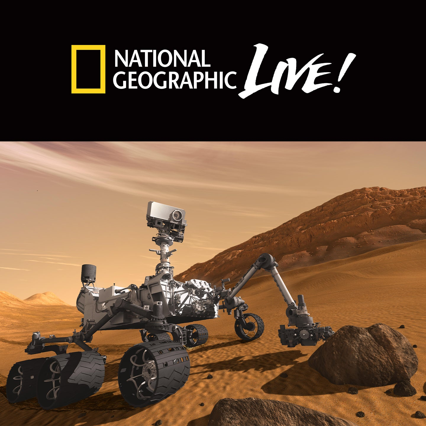 National Geographic Live: Exploring Mars