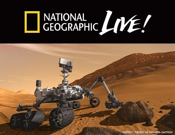 More Info for National Geographic Live: Exploring Mars