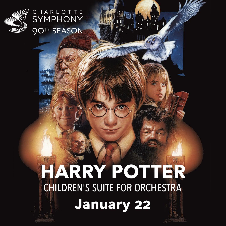 Charlotte Symphony Orchestra presents Harry Potter