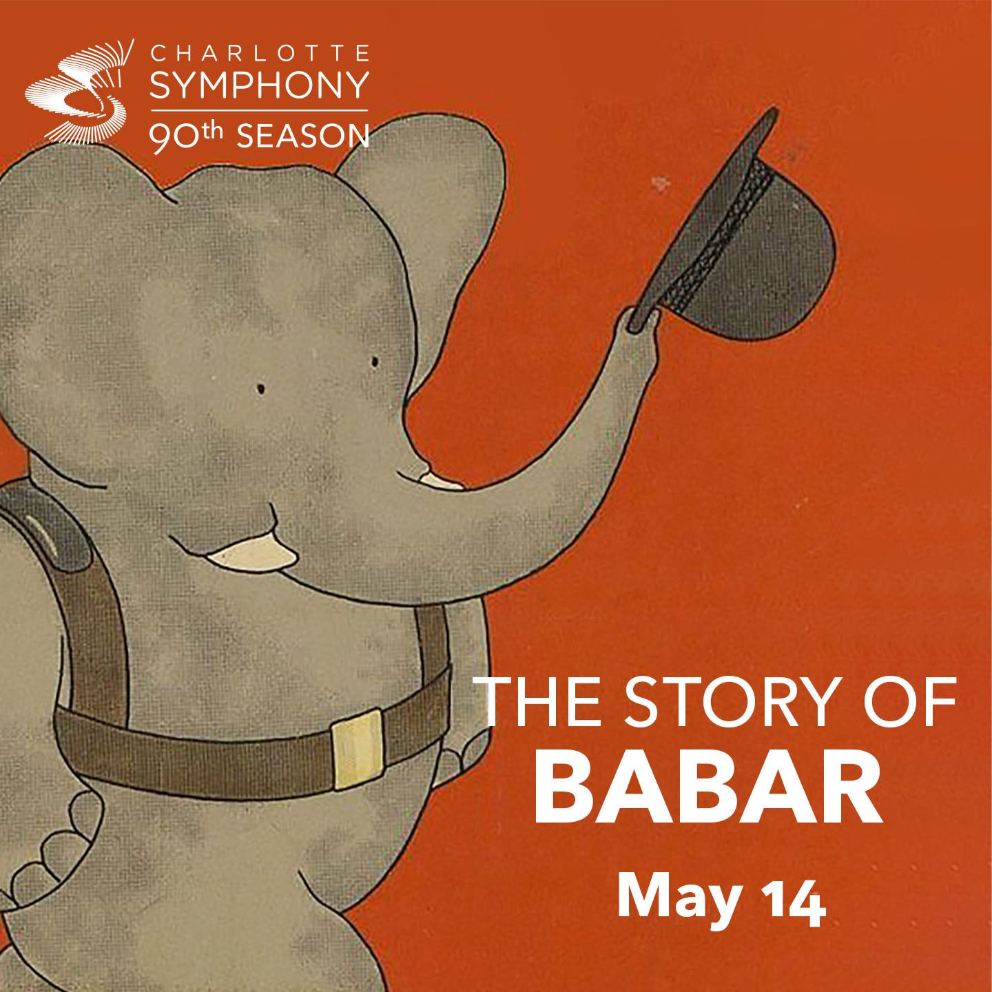 Charlotte Symphony Orchestra presents The Story of Babar