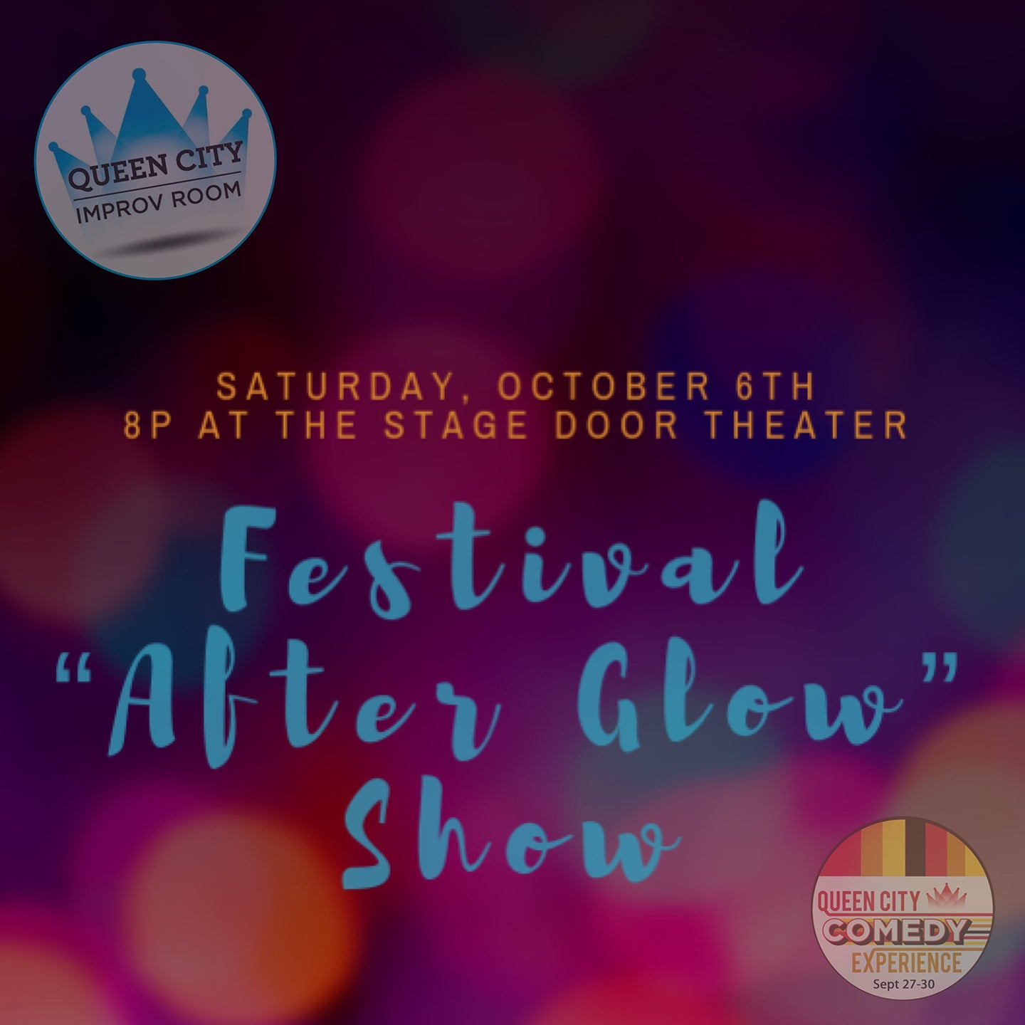 Queen City Improv Room: Festival Afterglow Show