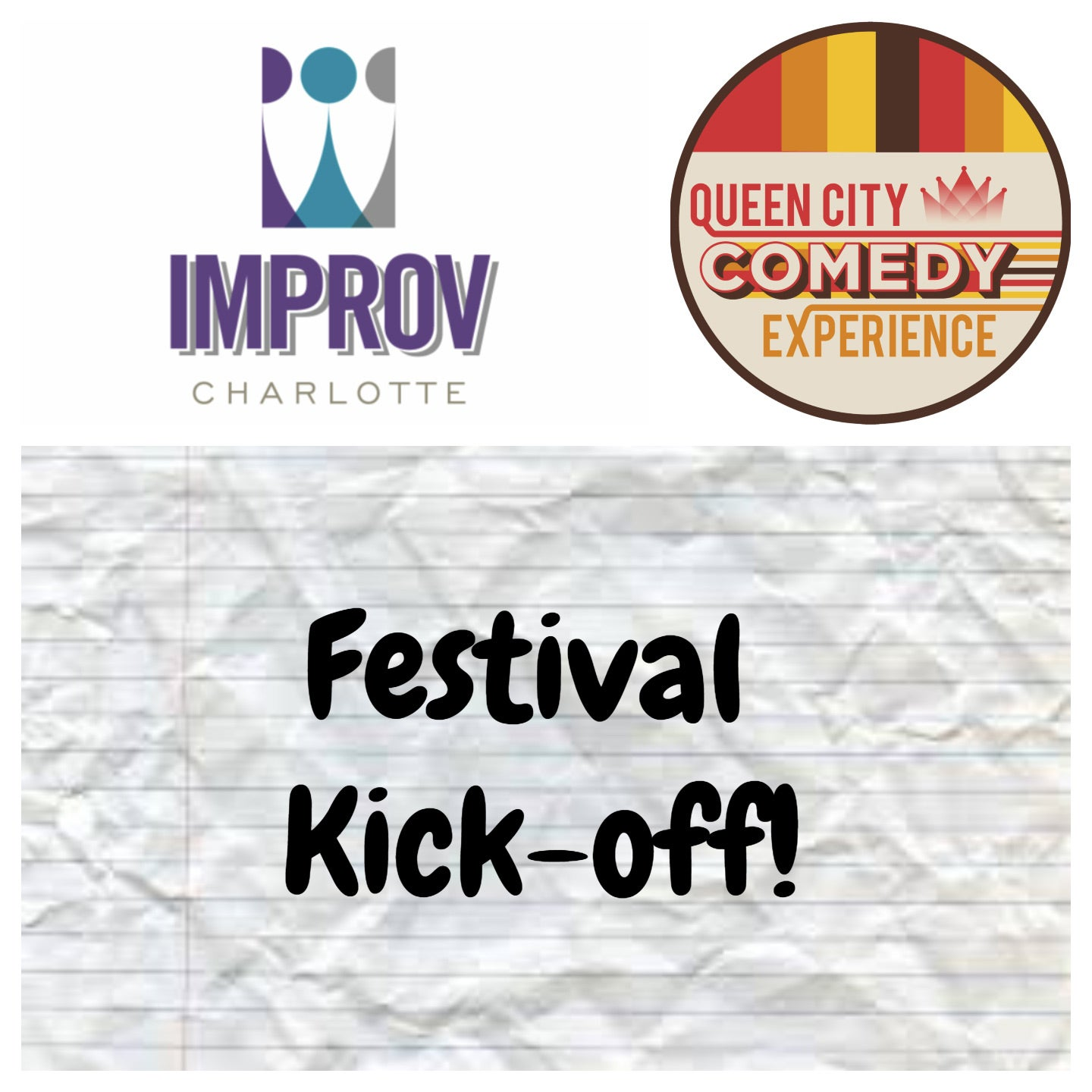 Festival Kickoff Show featuring Improv Charlotte