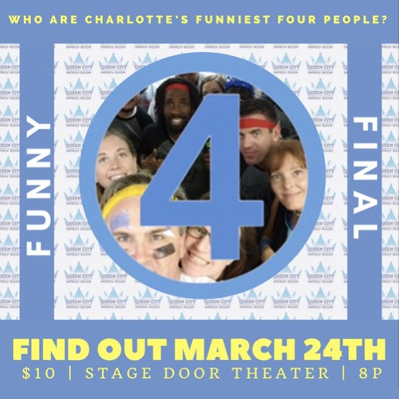 Queen City Improv Room: Final Funny Four