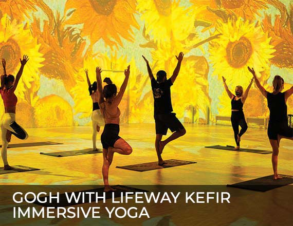 More Info for Gogh with Lifeway Kefir Immersive Yoga