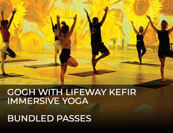 More Info for Gogh with Lifeway Kefir Immersive Yoga - BUNDLED PASSES
