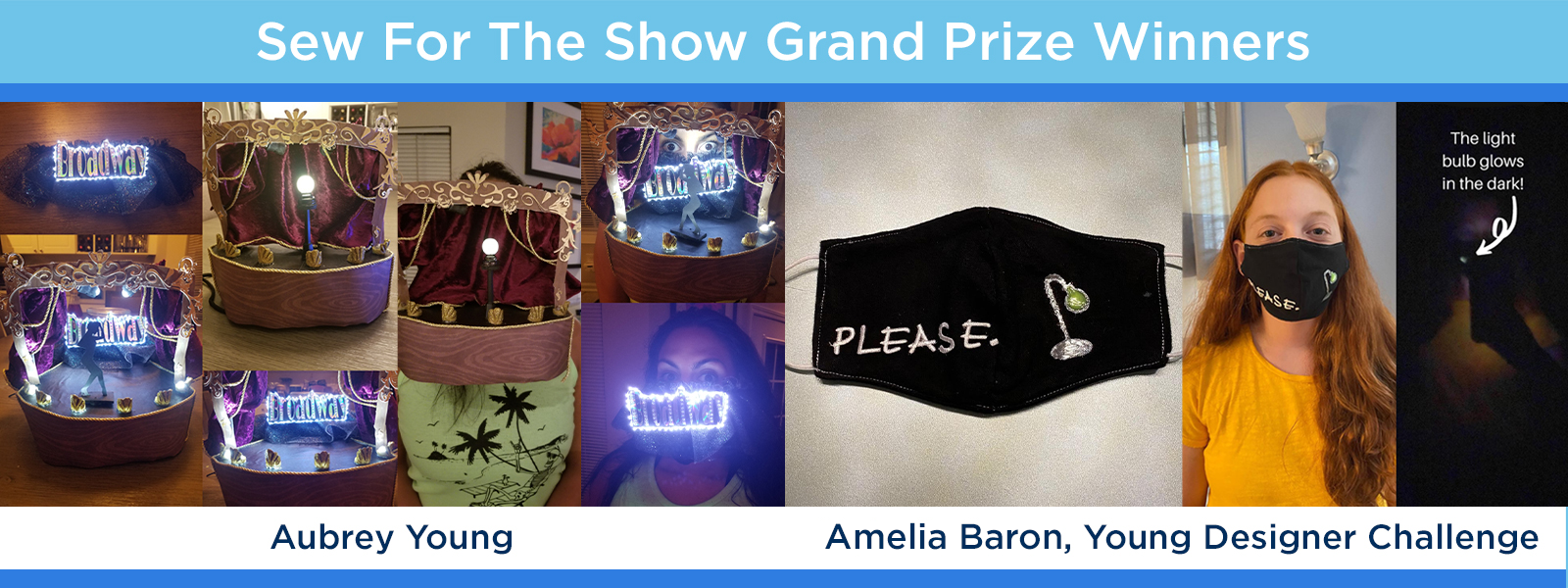 More Info for CONGRATS To Our Sew For The Show Grand Prize Winners!