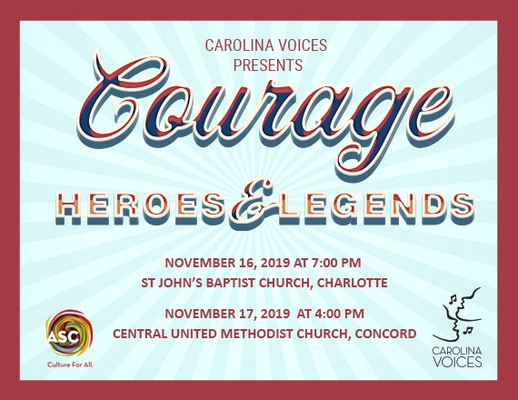 More Info for COURAGE: Heroes and Legends