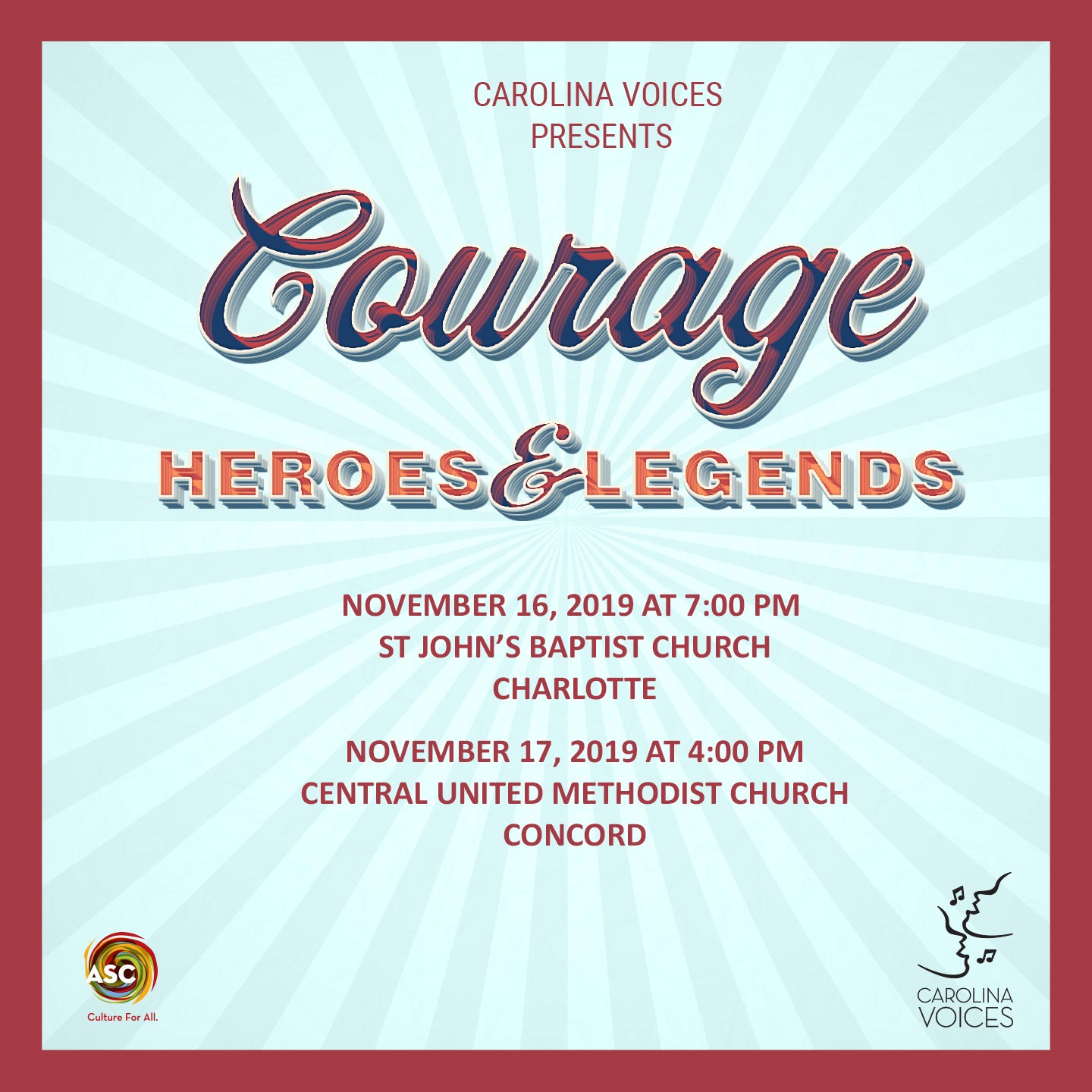 COURAGE: Heroes and Legends