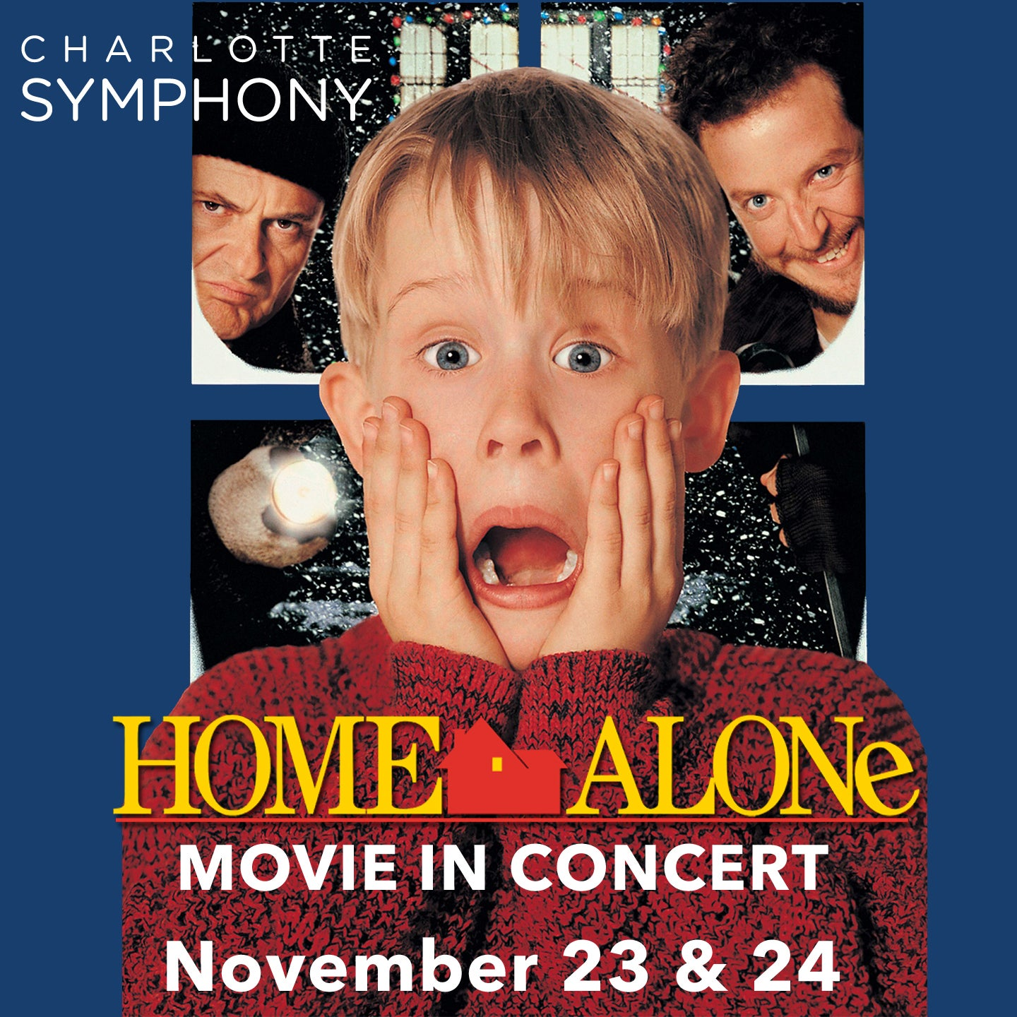 Charlotte Symphony Pops: Home Alone: Movie in Concert
