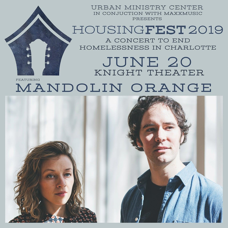 HousingFest 2019 featuring Mandolin Orange