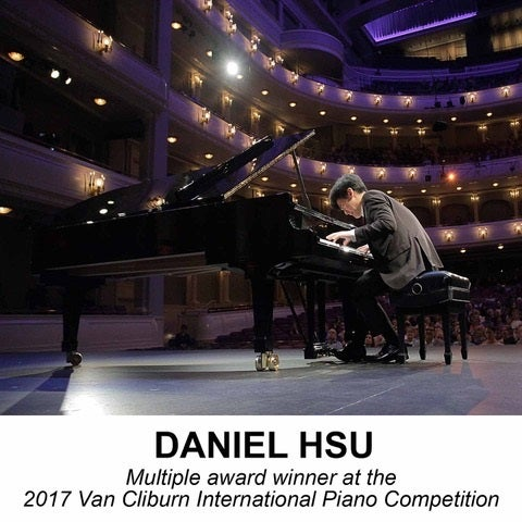 Daniel Hsu: Van Cliburn Piano Competition Award Winner